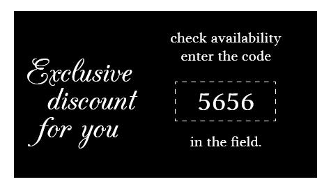 special discount code 5656