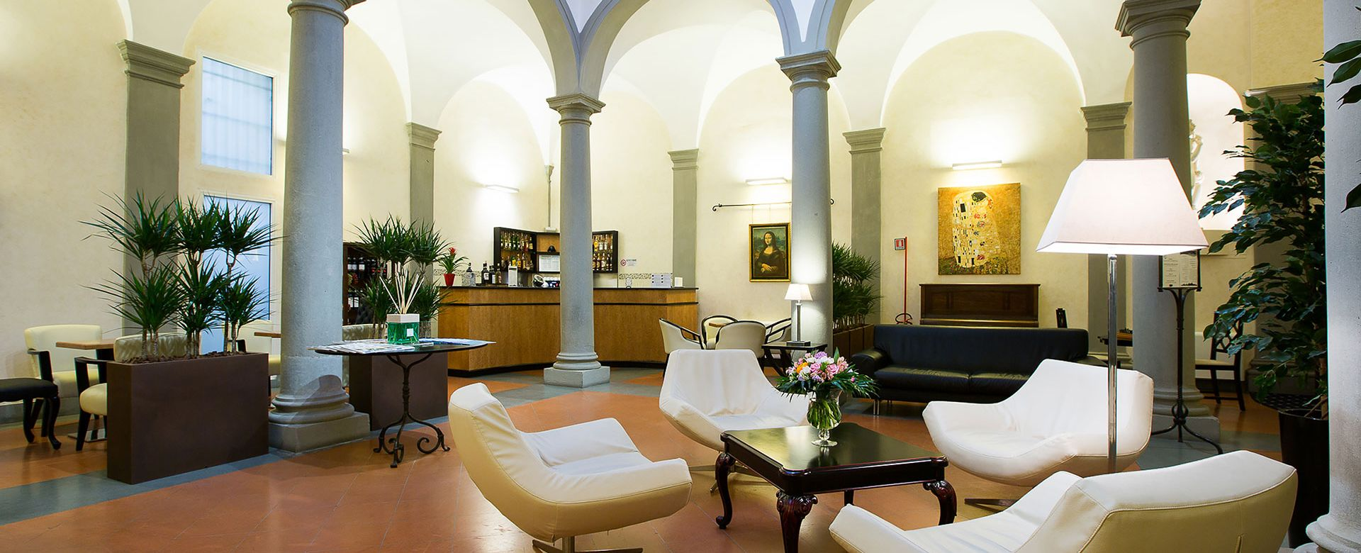 3 Hotel Centrale Firenze Lounge Bar